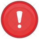 Signal Warning Message Icon