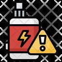 Warning Vaping Vape Icon