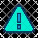 Alert Danger Caution Icon