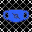 Warning Mask Virus Icon