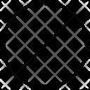 Warning Prohibition Symbol Icon