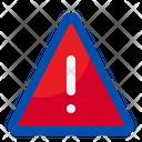 Warning Sign Alarm Icon