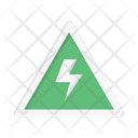 Warning Sign Current Icon