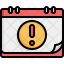 Warning Deadline Reminder Icon