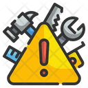 Warning Caution Alarm Icon