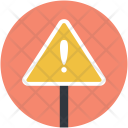 Warning Sign Signboard Icon