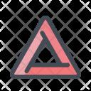 Warning Work Under Icon
