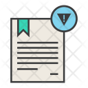 Warning Attention Certificate Icon