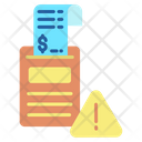 Warning Alert Payment Icon