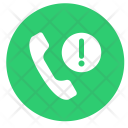 Lost Call Phone Icon