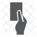 Referee Card Red Icon