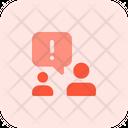 Warning Chat Icon