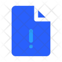 Warning File Icon