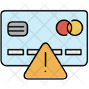 Warning in Credit-card Icon