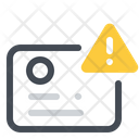 Warning In Identification Icon