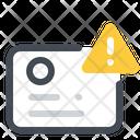 Warning Error Identification Icon