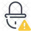 Warning In Lock Icon