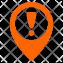 Warning In Navigation Icon