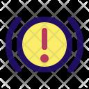 Warning Light Brake Icon