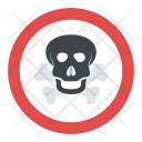 Warning Harmful Fumes Icon