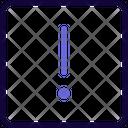 Warning Square Icon