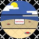 Warning zone Icon