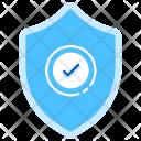 Warranty Secure Shield Icon