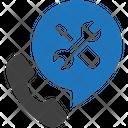 Warranty Service Call Icon