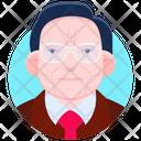 Warren Buffet Icon
