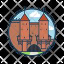 Warsaw Barbican Icon