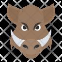Common Animal Warthog Icon
