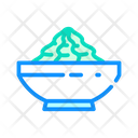 Wasabi Sauce Color Icon