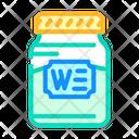 Wasabi Jar Jar Wasabi Icon