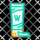 Wasabi Tube Wasabi Sauce Icon