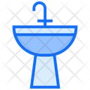 Wash Sink Faucet Icon