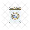 Wash Machine Electronic Icon