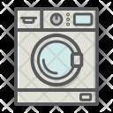 Wash Machine Clothes Icon