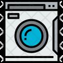 Wash Machine House Icon