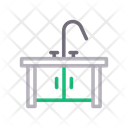 Sink Drawer Cabinet Icon