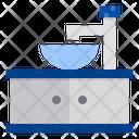 Sink Furniture Interior Icon
