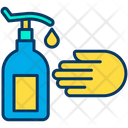 Wash Hands Handwash Liquid Icon