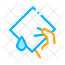 Hand Napkin Clean Icon