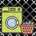 Wash Only Full Loads Washing Laundry Icon