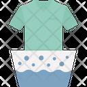 Bucket Clothes Laundry Icon