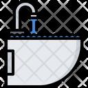 Sink Washing Water Icon