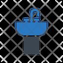 Sink Faucet Plumbing Icon