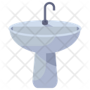 Washbasin Sink Bath Equipment Icon