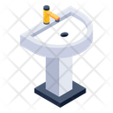 Sink Washbasin Washstand Icon