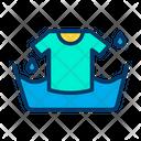 Bucket Wash Tshirt Tshirt Icon