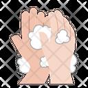 Hand Wash Washing Coronavirus Icon